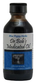 Dr.bob's Medicated Oil - Blue Poppy, 2 Fluid Ounces