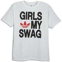Trefoil Cotton Originals My Shirt Swag Love Adidas x Girls T Large CsrBhQdtxo