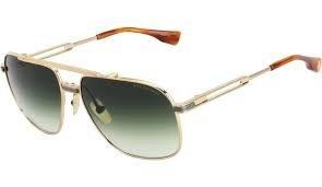 ddb96aad46b6 Amazon.com  Dita Victoire DRX-2049D Titanium Sunglasses 14Kt Gold 60mm   Clothing