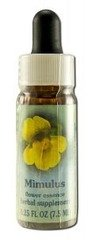 Flower Essence Services Supplement Dropper, Mimulus, 0.25 Ounce ()