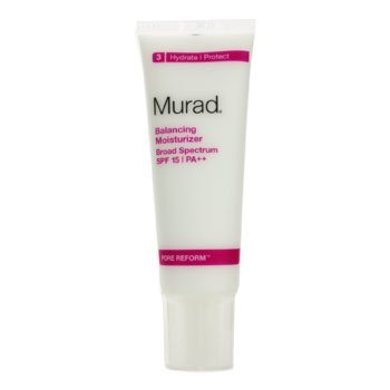 Murad Balancing Moisturizer Broad Spectrum SPF 15/PA++ 50ml/1.7oz Immortelle Precious Serum by LOccitane for Women - 1 oz Serum