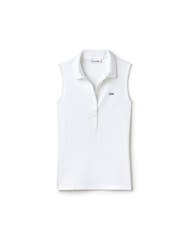 Blanco Polo Para 001 Mujer Lacoste blanc 0tPwd80q