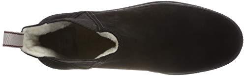 G00 Para Botas Maria black Mujer Plisadas Negro Gant qU0TtwT