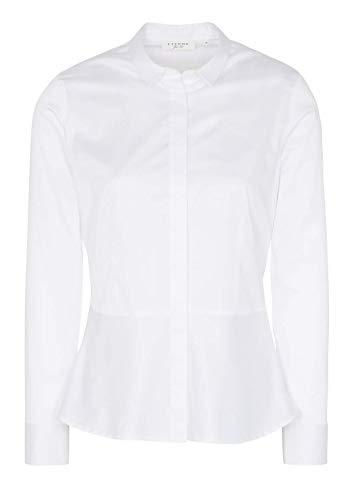 Fit Sleeve Slim Eterna Uni Long Bianco Blouse nT0wFIxq