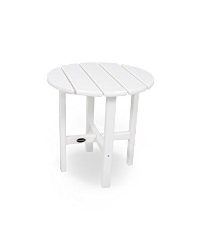 POLYWOOD PWS214-1-WH Classic Adirondack Chair Seating Set, White