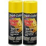 - Dupli-Color BCP101 Yellow Caliper Paint 12 oz. - 2 Pack