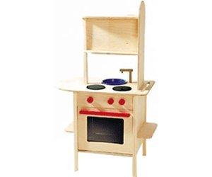 Roba bambini cucina cucina giocattolo in legno massello con forno