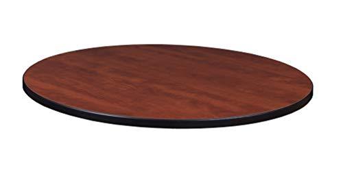 "Regency 30"" Round Laminate Table Top- Cherry/ Maple"