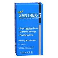 Zantrex Rapid Weight Loss, Extreme Energy, 84 ea Pack of 2