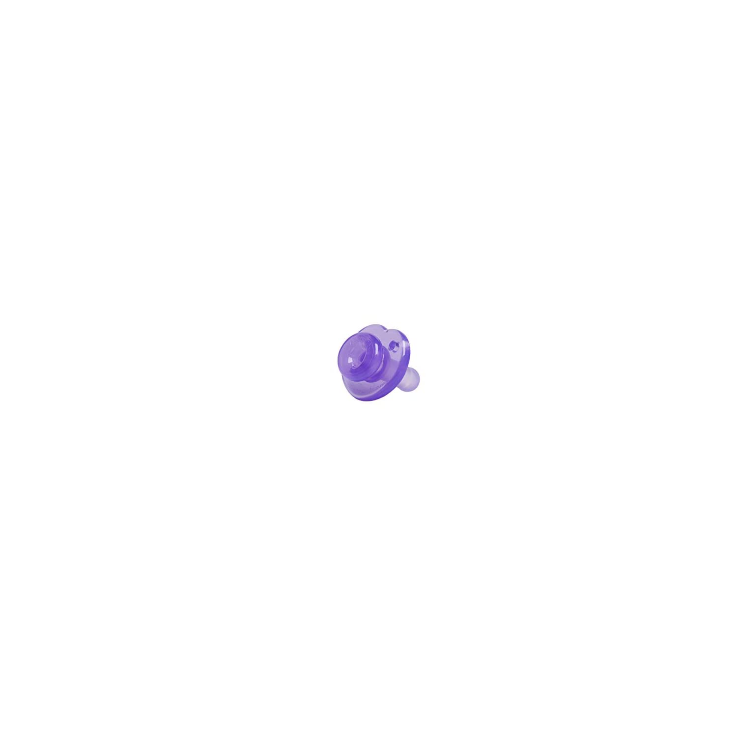 Nookums Paci-Plushies Replacement Pacifier 4 Pack (Purple)