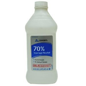 Swan Isoprophyl Alcohol, 70% 16 oz (Pack of 3) ()