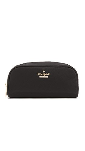 Kate Spade New York Women's Berrie Cosmetic Case, Black, One Size by Kate Spade New York