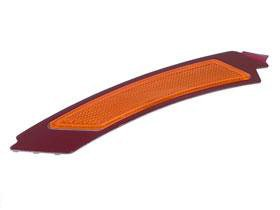 BMW e90 e91 Reflector for Bumper Cover LEFT Front (Yellow) OEM new side ()