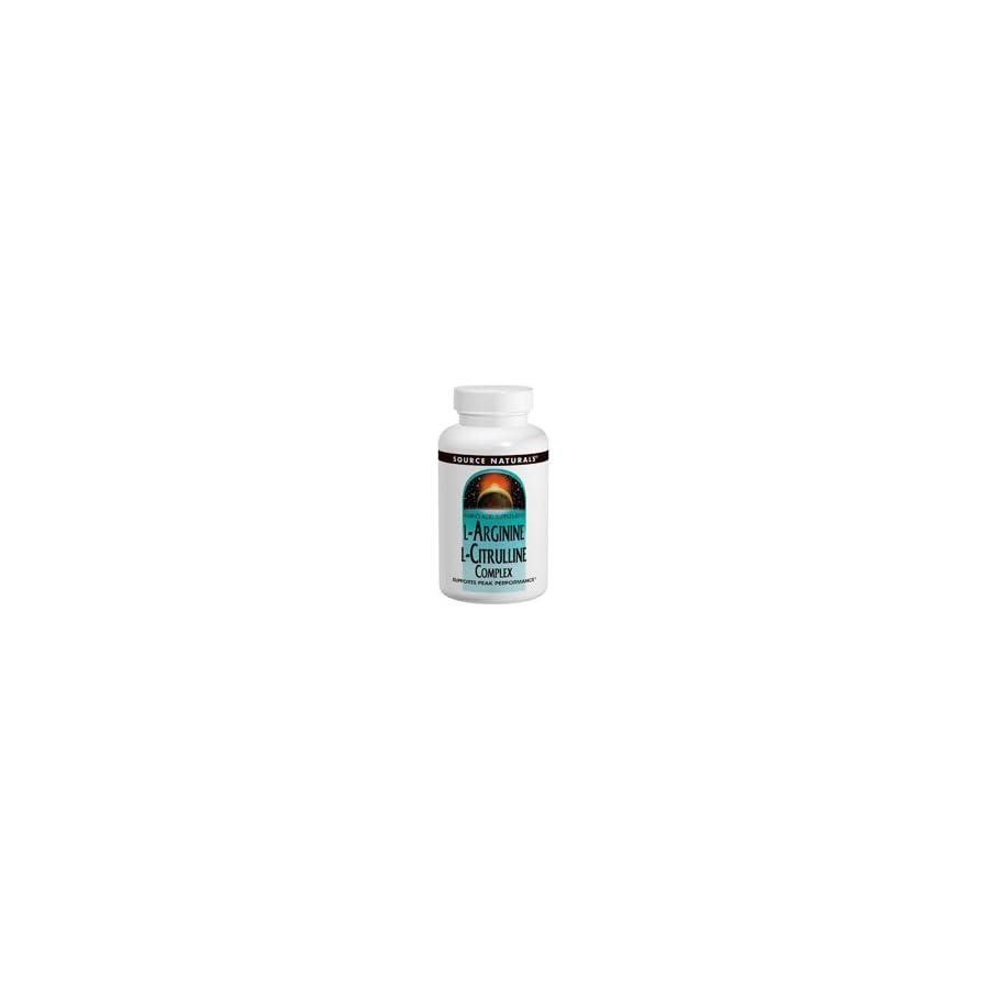 Source Naturals L Arginine L Citrulline Complex