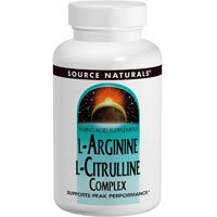 L-Arginine L-Citrulline Complex, 240 Tabs by Source Naturals (Pack of 3) by Source Naturals