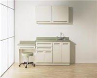 (1172384 Cabinet 6 Doors 3Drwr w/o Sink Pebble Ea Midmark Corporation)