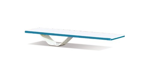 S.R. Smith 68-209-58662 Frontier II Jump White Stand with 6-Foot Frontier II Diving Board, White ()