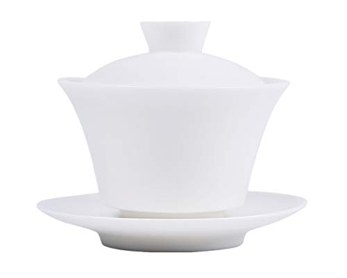 Moyishi Chinese Gaiwan Traditional White Tea Cup Comprised o