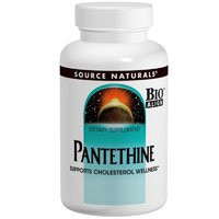 Pantethine, 60 Tabs by Source Naturals (Pack of 2)