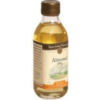 Spectrum Naturals Sweet Refined Almond Oil, 8 Ounce - 6 per case.