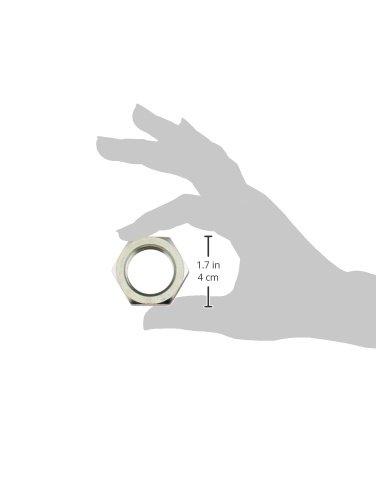 Brennan Industries FS0306-08 Steel Bulkhead Lock Nut for O-Ring Face Seal Fitting 1//2 Tube OD 13//16-16 NPT Thread