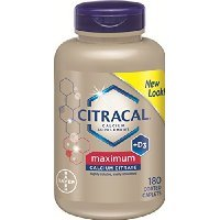 Citracal Maximum Caplets with Vitamin D3, 180-Count Bottle SOLD BY Prefectmart THANK YOU
