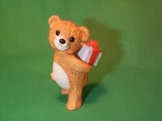 Hallmark Porcelain Bear Cinnamon Bear Fourth in the series 1986 ornament