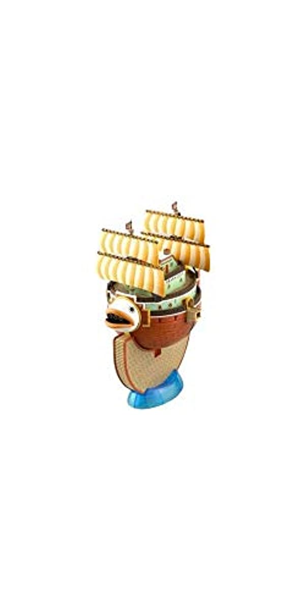 [해외] 원피스 위대한 배(그랜드 쉽)콜렉션 장미 T에 색분할 프라모델