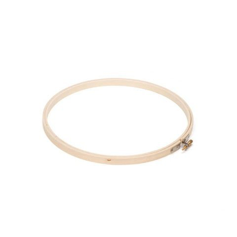 Wooden Embroidery Hoop (Wooden Embroidery Hoops - Round - 10 inches (6-Pack))