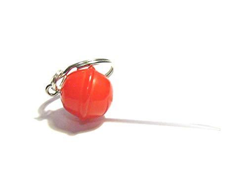 Cherry Lollipop Keychain - Tiny Food Jewelry