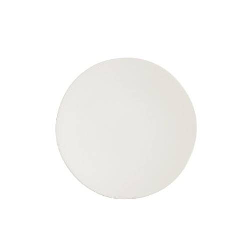Fortessa Vitraluxe Dinnerware Heirloom Matte Finish Salad Plate 8-Inch, Linen, Set of 4 by Fortessa