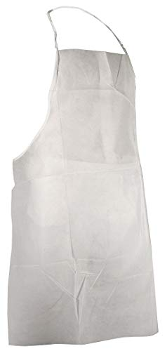 Cellucap Apron - Cellucap Bib Apron, White, 36