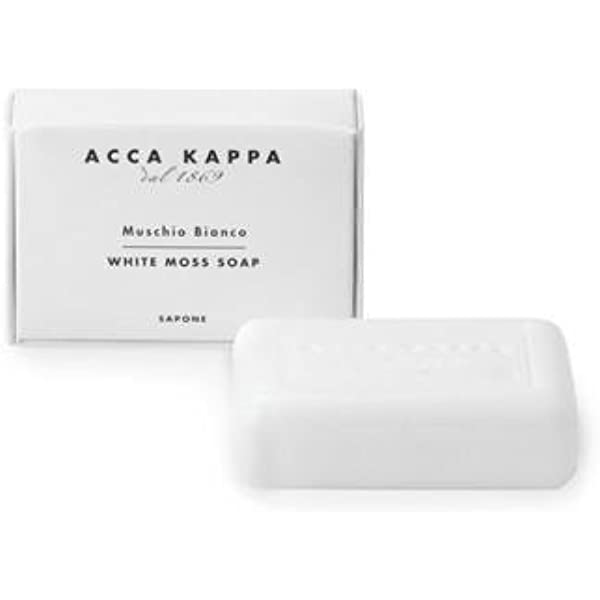 Automáticamente Posicionar Llevar  Acca Kappa Soap, White Moss - Set of 3, 3.5 Oz (100 G) Soaps : Bath Soaps :  Beauty - Amazon.com