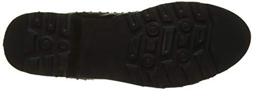 De noir Factory The Divine Noir Cordones Para Dalia Oxford 001 Zapatos Mujer BIBnx4qr