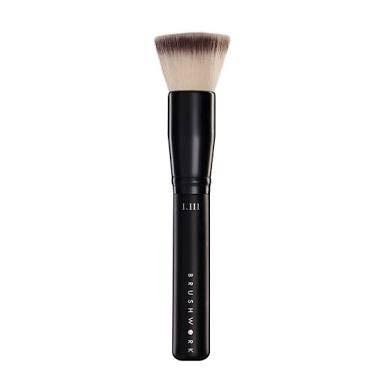 (Brushwork cosmetic AIRBRUSH POWDER FOUNDATION BRUSHULTRA SOFT DENSE FLAT TOP PICKS UP AND DISTRIBUTES POWDER SEAMLESSLY)