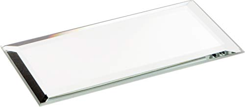 (Plymor Rectangle 3mm Beveled Glass Mirror, 2 inch x 4 inch (Pack of)