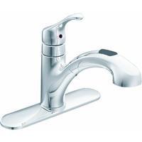 Moen, Inc. 87316C Renzo Single Handle Pullout Kitchen Faucet