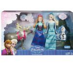 Disney Frozen Exclusive Doll Set Friends Collection [Anna, Elsa, Olaf & Sven] - Exclusive Doll Set