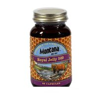 Royal Jelly, 500mg, 60 Caps by Montana Naturals (Pack of 3)
