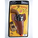 Big Game Toys~ Big TEX-Pistol Cowboy Western Holster Heavy CAST Metal Toy Cap Gun Italy