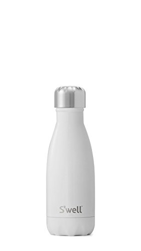 S'well Vacuum Insulated Stainless Steel Water Bottle, 9 oz, Angel Food
