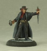 Reaper Abraham Van Helsing, Vampire Hunter 50189 Miniatures ()
