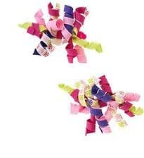 "Gymboree Hair Accessories Pack of 2 ""Candy"" Multi-Colored Hair Clips"