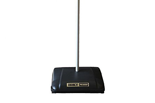 HOKY PR3000 Sweeper with Rubber Rotor, 12-1/2 Cleaning Path, Grey by HOKY (Image #3)