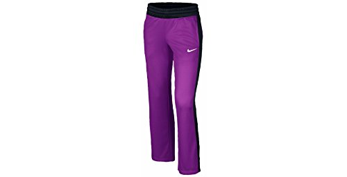 Nike Girls' KO 3.0 Fleece Training Pants (Medium, Vivid Purple/Black/White/White)