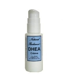 Hormone Growth Dhea (Natural Radiance DHEA Unscented & Paraben-Free - Topical Creme 2 oz. Pump Bottle - Great for Air Travel. DHEA is a precursor, or source ingredient, to virtually every hormone your body needs.)
