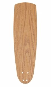 Emerson Ceiling Fans G54MO 22'' Accessory Ceiling Fan Blades, Medium Oak, Indoor, Set of 5 Blades by Emerson