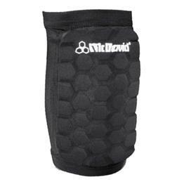 McDavid Dual Density Hexforce Knee/Elbow/Shin Pads (Black, X-Large, (Mcdavid Football Elbow Sleeve)
