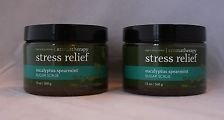 Spearmint Sugar - Bath & Body Works Eucalyptus Spearmint Sugar Scrub Aromatherapy Stress Relief Pack of 2 13 Oz