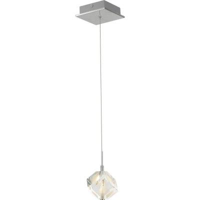 Crystal Cube Pendant Light